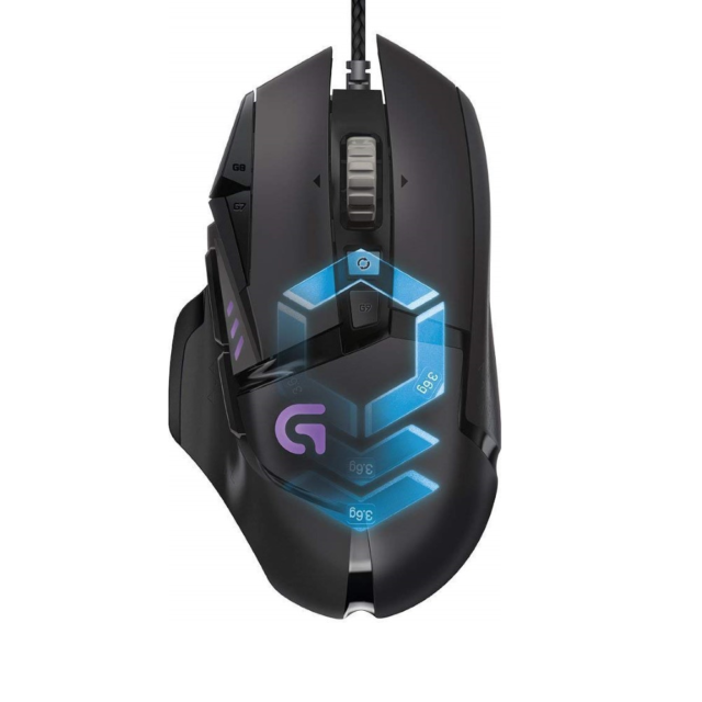 MOUSE LOGITECH GAMING G502 Proteus Spectrum RGB Tunable Gaming Maus (910-004617)