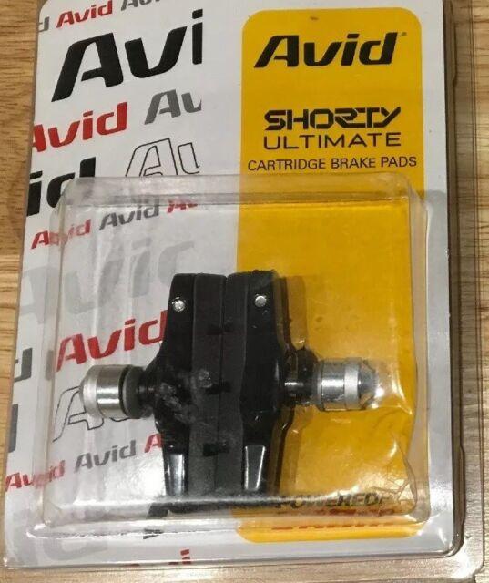 Avid Shorty Ultimate Replacement Cartridge and Brake Pads Black