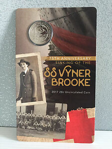 Brand-New-Uncirculated-Royal-Australian-Mint-2017-SS-Vyner-Brooke-20-Cent-Coin