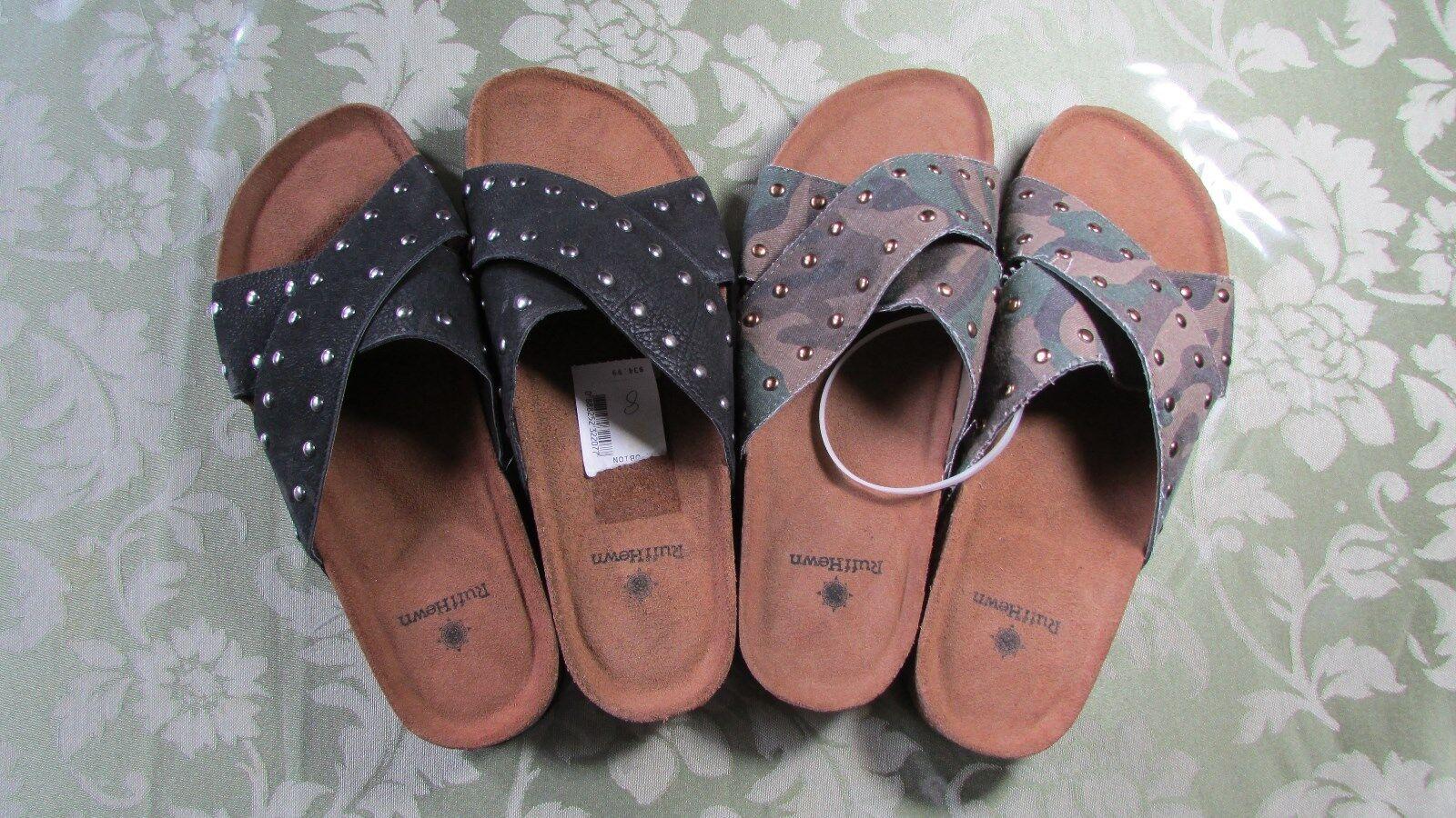 NEW Ruff Hewn 7M, Women's Studs Sandals Size 7M, Hewn 8M 7c1402
