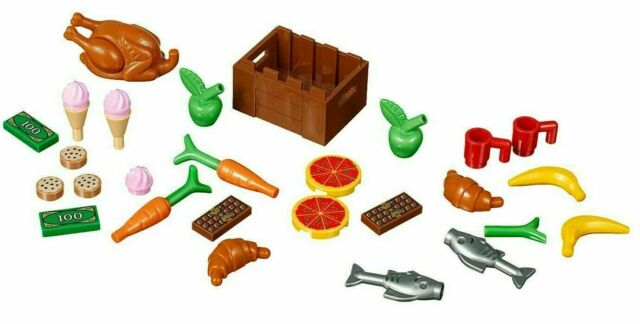 LEGO Xtra City Town 40309 Food Accessories Polybag 30pcs for sale online