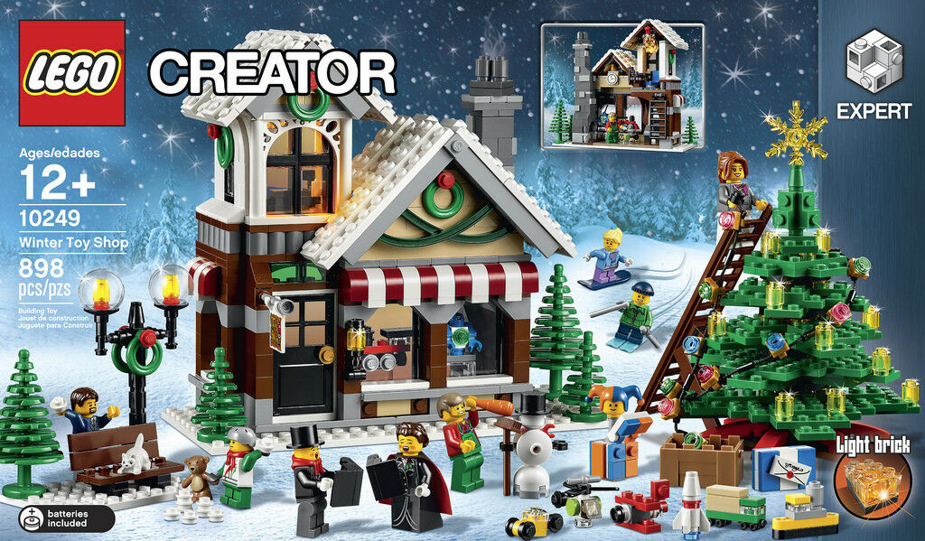 LEGO Creator (10249) Winter Toy Shop (Brand New & Factory Sealed) Discontinued