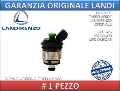 QUATTRO INIETTORI GPL VERDE LANDIRENZO ORIGINALE GAS 237109000
