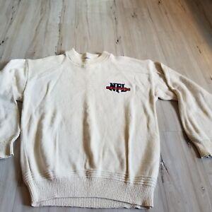 pretty nice 3e26c 94022 Vintage VTG NFL knit sweater men football top nutmeg mills M ...