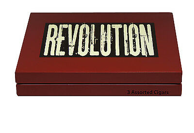 Revolution – Sampler – 3 Zigarren – 3 Formate - Mexico
