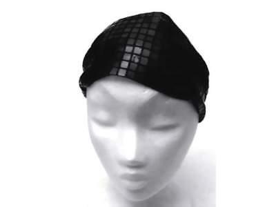 Gentile Nuovo Fascia Per Capelli Headband Banda Frontale In Nero 8cm Larga-mostra Il Titolo Originale