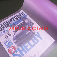 "12"" x 48"" Matte Glitter Purple Tint Headlight Taillight Fog Light Vinyl Film"