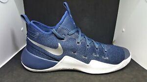 buy popular 9844b 056ca Image is loading Men-039-s-Nike-Hypershift-Basketball-Shoes-Blue-