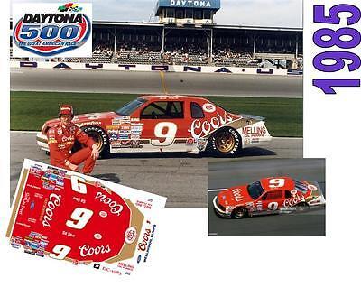CD/_DC-1985-C  #9 Bill Elliott  1985 Coors Ford Thunderbird   1:43 scale DECALS