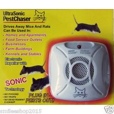 Ultrasonic Mouse Rats Repellent Pest Chaser Chases Rats Away