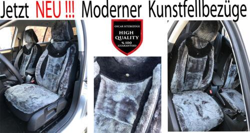 HYUNDAI Fell Sitzbezüge Schonbezüge Kunstfell Lammfell Imitat Plüsch 888