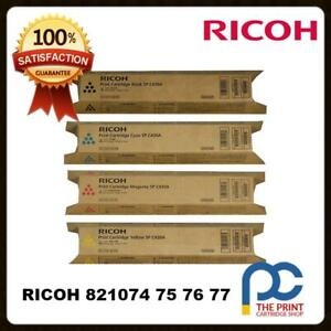 New-amp-Original-Ricoh-Aficio-SP-C430DN-C431DN-C440DN-SPC430DN-CYMK-Toner-Set