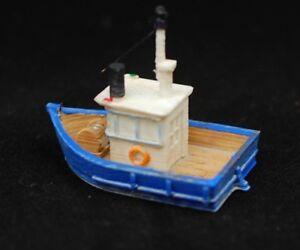 RTR-lackiert-Fishing-Trawler-N-Massstab-1-160-Custom-Designed-Modelleisenbahn-Boot