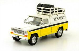 IKA-Jeep-Gladiator-1983-Renault-Service-Rare-Argentina-Diecast-Scale-1-43-Magzne