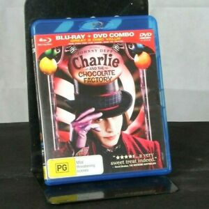 Charlie-And-The-Chocolate-Factory-Blu-ray-DVD-Brand-New-amp-Sealed