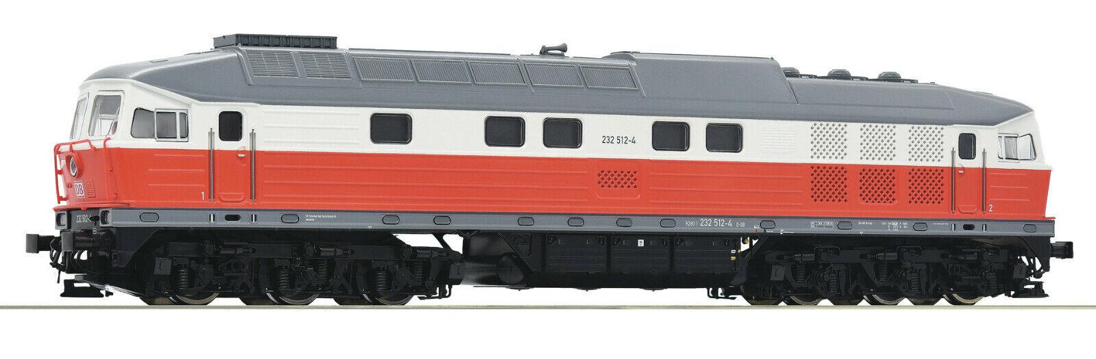 mejor opcion Roco H0 58505 - 232-512-4 diesel locomotora, locomotora, locomotora, DB AG, digital, sonido, AC nuevos productos  punto de venta barato