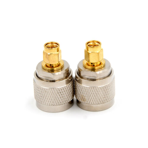 N-Type N Male Plug to SMA Male RF Coaxial Adapter Connector 1 Jd