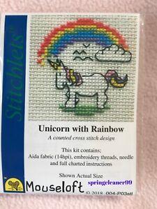 Pony Stitchlets X Stitch Kit by Mouseloft