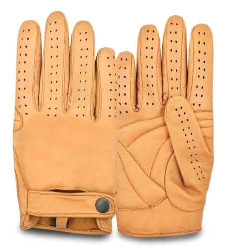 Chauffeur Classic en cuir gants de conduite robe mode sans doublure vintage