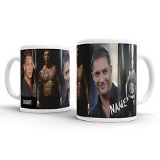 TOM HARDY Personalised Mug Cup Coffee Tea ADD NAME movie love hunk valentines