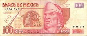 Mexico-100-pesos-2003-P-118c-2-Free-to-Combine-Low-Shipping