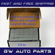 Wheel Balancing Adhesive Weights Stick On .50 oz pieces BOX 144 pcs  72OZ Tire?