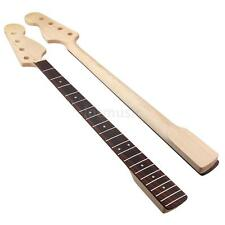 Bass Neck for Fender Precision Bass Parts Maple Rosewood Fingerboard 21 Fret
