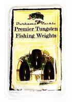 Durhams Tackle- Premier Tungsten Flipping Weight 3/8oz Black (3 Pack)