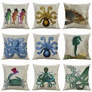 Decor-Home-Cushion-Cover-Cotton-Linen-Interesting-Cartoon-Pillow-Cases-Printing