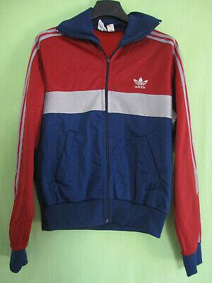 Veste Adidas Ventex Tricolore Trefoil 70'S Lie de vin Vintage Jacket 168 S | eBay
