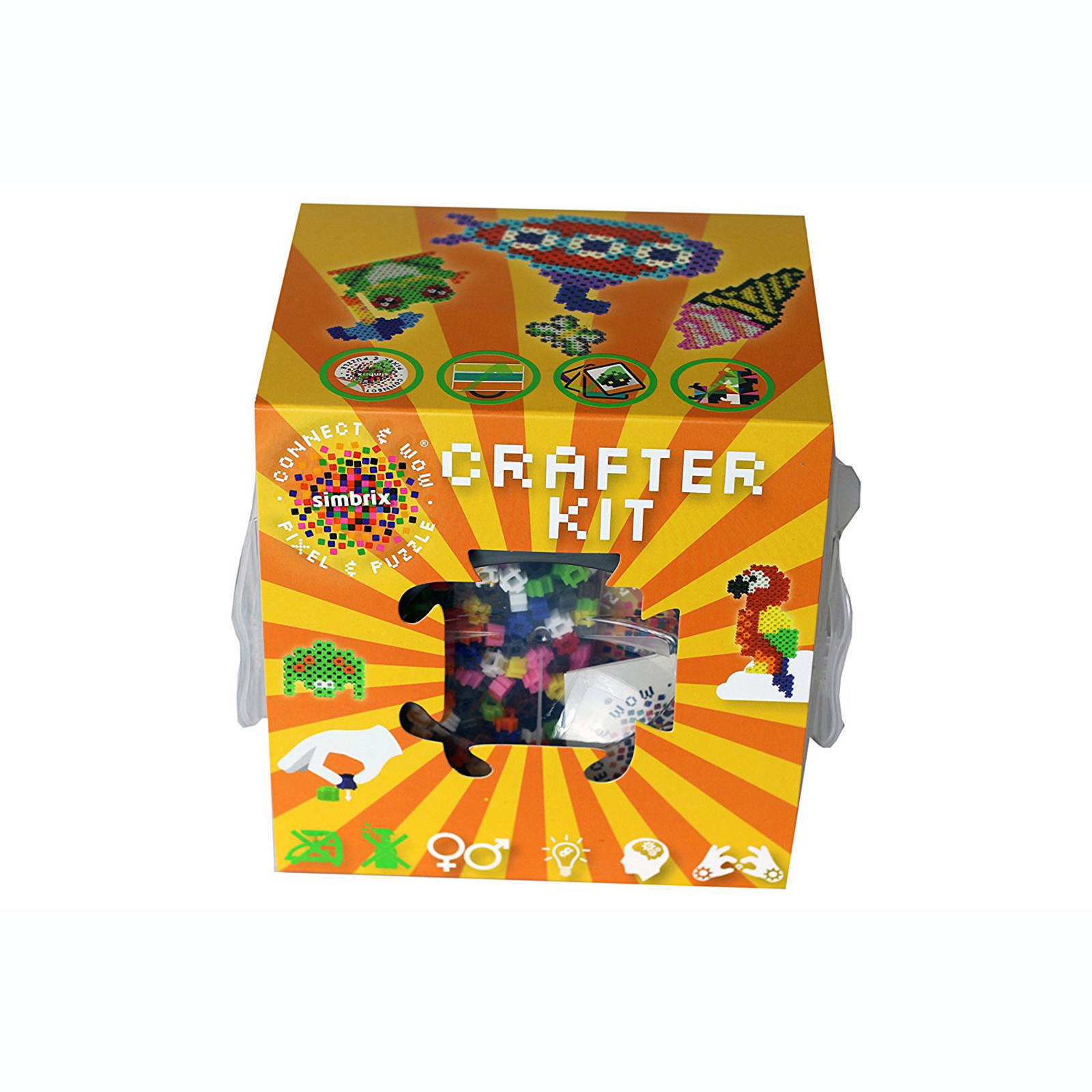 Simbrix Crafter Kit Pixel Arte Set - 3000 Riutilizzabile Costruzione  Perlina  in vendita scontato del 70%