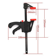 Quick Grip 4 inch F woodworking Clamp Clip Heavy Duty Wood Hand Tool Clamp