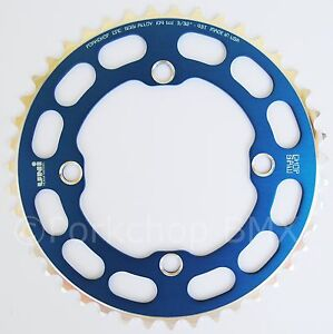 Porkchop-BMX-Chop-Saw-I-single-speed-bicycle-chainring-43T-4-bolt-104-bcd-BLUE
