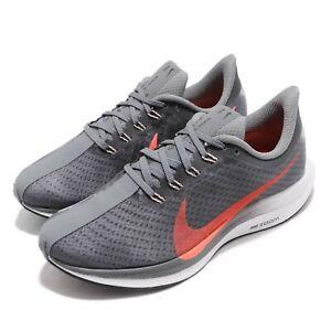 Details about Nike Wmns Zoom Pegasus 35 Turbo Grey Lava Glow Women Running Shoes AJ4115 005