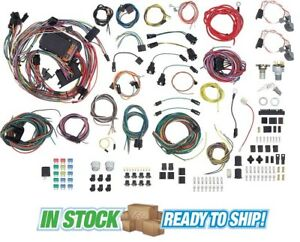 61 64 chevy impala classic update american autowire wiring harness rh ebay com Wiring Harness Connector Plugs Wiring Harness Connector Plugs
