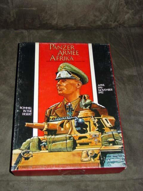 AH Avalon Hill - PANZER ARMEE AFRIKA - Rommel's Desert War 1941-2  (UNPUNCHED)