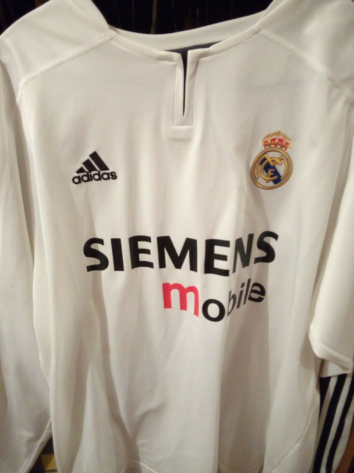 CAMISETA REAL MADRID 20032004 OFICIAL ORIGINAL