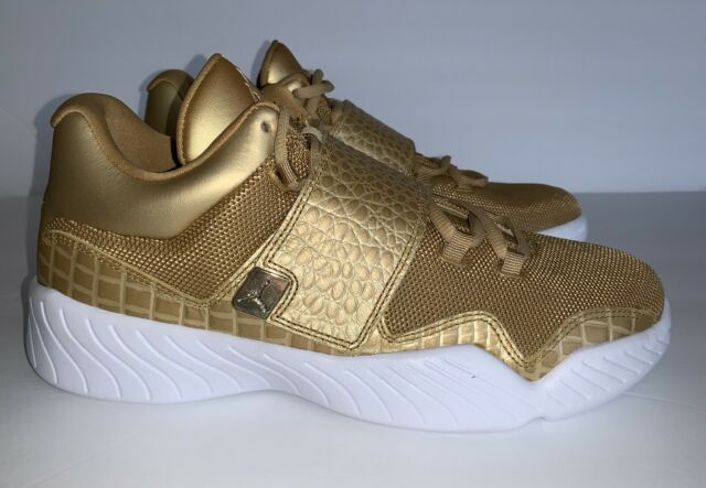 * NEW * NIKE Air Jordan J23 Mens Shoes 854557 700 Metallic Gold White sz 11