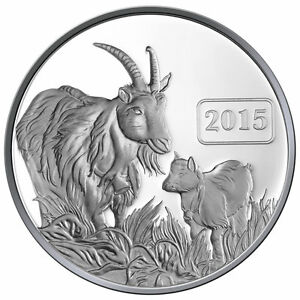 2015-Goat-Family-1oz-Silver-Proof-Tokelau-Coin