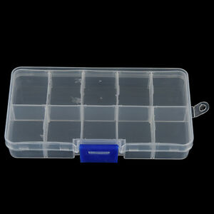 10-Compartments-Fishing-Fish-Hook-Bait-Lure-Box-Tackle-Storage-Container-CasCWXI
