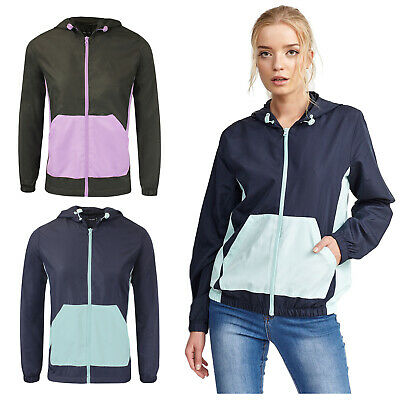 Temperamentvoll Women's Brave Soul Lightweight Water Resistant Windbreaker Running Jacket Ss18
