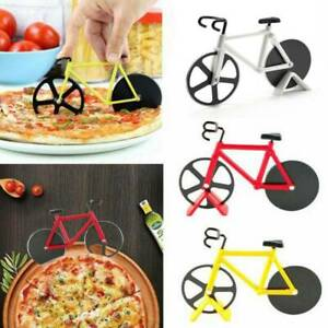 Bike-Pizza-Cutter-Road-Bicycle-Chopper-Slicer-Kitchen-Tool-Stainless-Steel-HOT