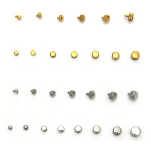 Watch-CROWNS-amp-WINDERS-Silver-amp-Gold-Parts-3mm-to-7mm-Waterproof-Stainless-Steel