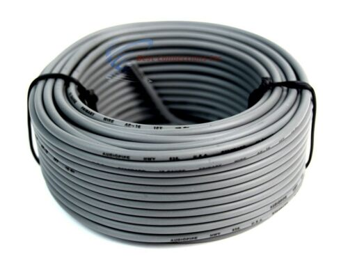 5 Rolls 16 Gauge 50 Feet Remote Primary Trailer Wire LED Power Cable Audiopipe