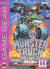 Monster Truck Wars Game Gear Great Condition Fast Shipping