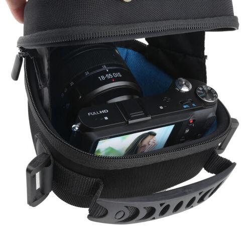 Eva Duro Hombro Cámara Caso Bolsa para Canon PowerShot G3X SX70HS SX540HS SX430HS
