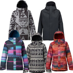 Burton Gore-Tex Rubix Jacket Women s Snowboard Jacket Ski Jacket ... 8a63ac975020