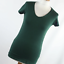 Atmosphere-Womens-Size-10-Green-Plain-Basic-Tee thumbnail 1
