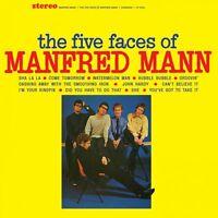 Manfred Mann The Five Faces Of (2nd Us Album) 180g Sundazed Music Vinyl Lp