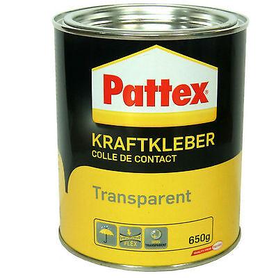 PATTEX Kraftkleber Transparent 650g-Dose